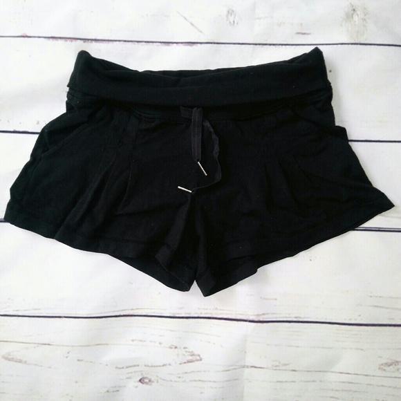 lululemon athletica Pants - Lululemom Black Shorts